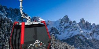 Una nuova cabinovia sta nascendo a San Martino di Castrozza ©Sanmartino.com