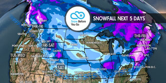 Serious Snow in Spots: 11.15 Snow B4U Go ©Meteorologist Chris Tomer