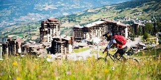 Les Orres, la Mecque du VTT dans les Alpes du Sud ©François Mochi