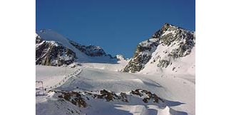 Fresh Snow On Molltal Glacier