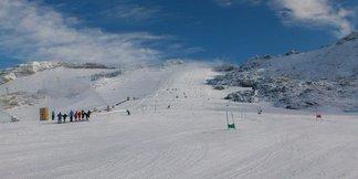 Sneeuwbericht: Het is weliswaar lente, maar waar is nog (voldoende) sneeuw te vinden? ©Molltaler Gletscher