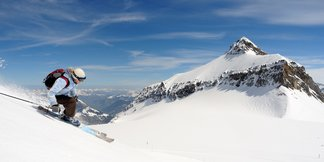 Bonne neige garantie pour ce week-end du 20 avril - ©www.glacier3000.ch