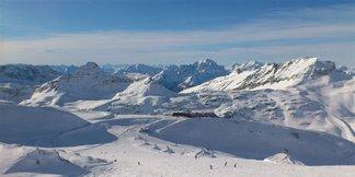 Snehové správy: Husté sneženie v Alpách otvára zimnú sezónu na rakúskych ľadovcoch ©Mölltaler Gletscherbahnen GmbH & Co KG