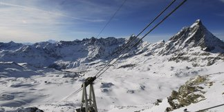 Snowiest ski resort of the week ©Credit Breuil-Cervinia