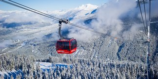 Najúchvatnejšie lanovky: Whistler-Blackcomb, Coast Mountains, Kanada - ©Mike Crane/Whistler Tourism