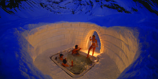 Śnieżne apartamenty: igloo, hi-tech namiot albo lodowy hotel - ©Iglu Dorf GMBH