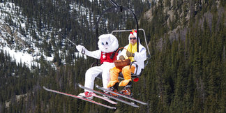 20 Top Resorts for Easter & Late-Season Skiing ©Photo courtesy Arapahoe Basin Resort.