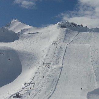 Májový sníh v Itálii