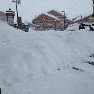 Chutes de neige du 23 mars 2014
