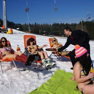 Bikini contest e Sci di primavera a Klíny (CZ) - Marzo 2014