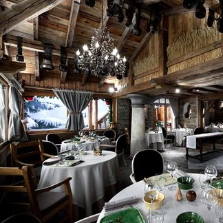 High-end dining in the Alps - ©La Bouitte