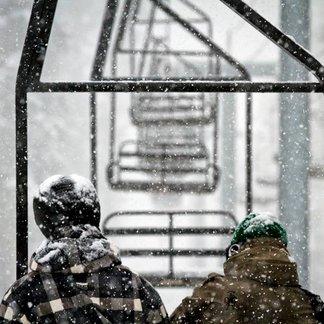 Begin maart 2014: Hevige sneeuwval in de VS