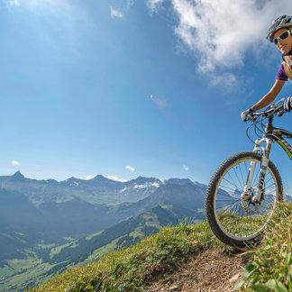 Mountainbiken in Adelboden - ©Adelboden Tourismus | swiss-image.ch/ Stephan Boegli