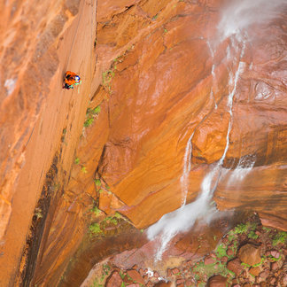 David Lama und Conrad Anker: Zion Nationalpark - ©James Q Martin / Red Bull Content Pool