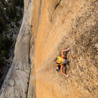 Sasha DiGiulian: Peace (5.13 c/d) im Yosemite