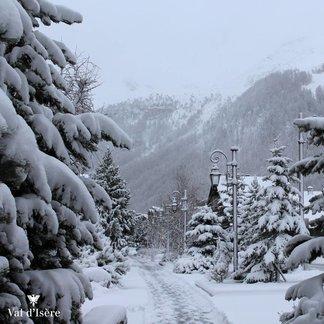 Neve sulle Alpi - 21/22 Novembre 2015 - ©Facebook Val d´Isère