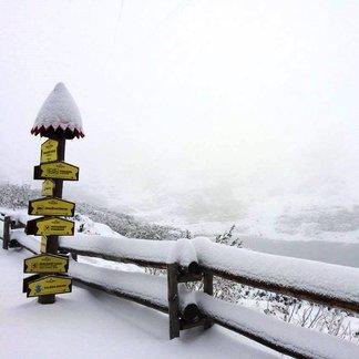 Prvý sneh na slovenských horách - ©facebook Vysoké Tatry - hory zážitkov