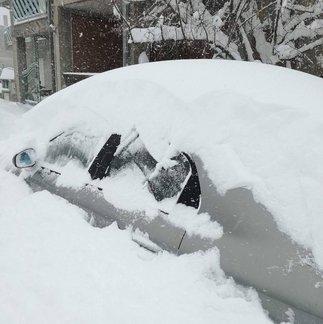 Eccezionale nevicata in Sardegna - 17.01.17 - ©Sardegna Live Facebook - Foto di Raffaele Nieddu