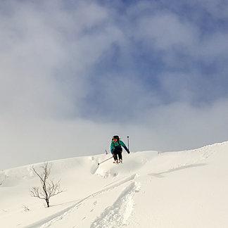 Over en meter nysnø på Vestlandet - ©Arild Gravdal