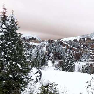 Snowfall in the Alps 25.10.17 - © Avoriaz/Facebook