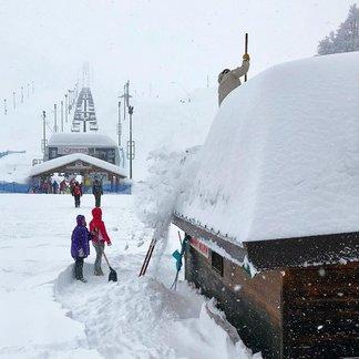 Verse sneeuw voor de Italiaanse Alpen (23, 24, 25 februari 2018) - © Prato Nevoso Ski Facebook