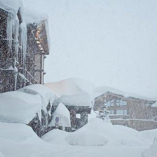 Retour d'est goed voor anderhalve meter sneeuw in 48 uur. - © OT de Tignes