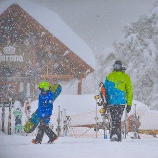 Powder pur! Schneefall in Argentinien im Juli 2019 - © Facebook Cerro Chapelco