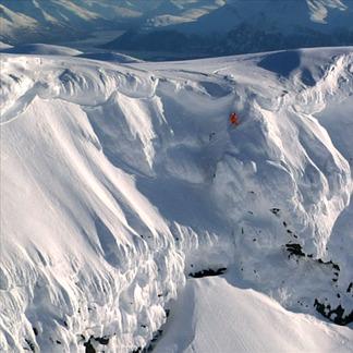 "Bilder fra skifilmen ""Turbulent Flow"", fra Chaoz Productions - © Chaoz Productions"