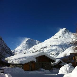 Soleil et poudreuse sur les Alpes (22 janv. 2013)
