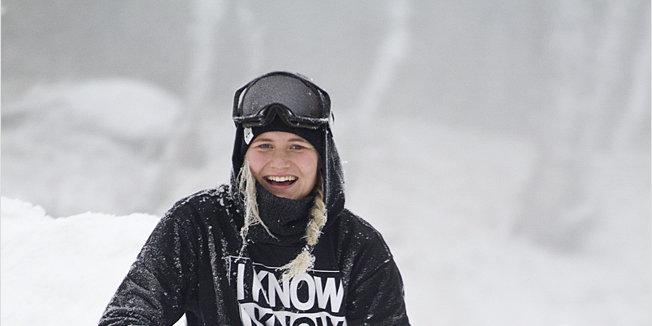 Första bilderna från vintern i Hemsedal