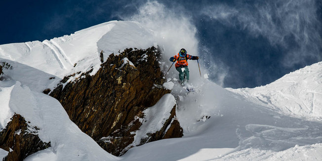 Freeride World Tour v Kappl/Tirolsko