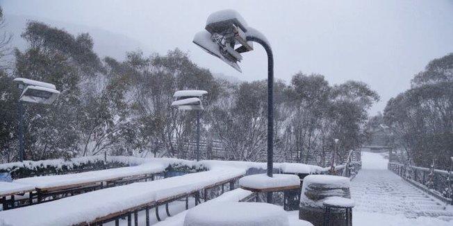 Aktuálně: Zima v Austrálii a na Novém Zélandu