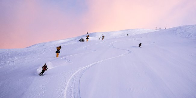 Aktuelle Winterbilder aus den Skigebieten der Südlichen Hemisphäre - ©Coronet Peak
