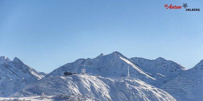 Neve fresca sulle Alpi - 13 Dicembre 2018 - © St. Anton/Facebook