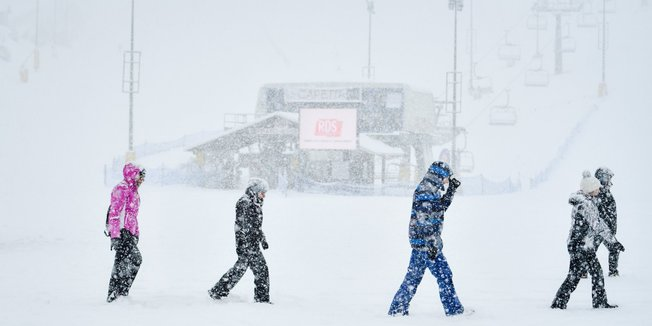 Italiens Skigebiete melden große Neuschneemengen! - © Prato Nevoso Ski Facebook