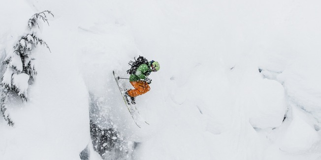 Powder Skiing at Mt. Baker Ski Area - © Liam Doran
