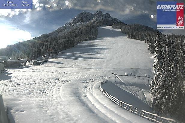 L'inverno non è mai finito! Neve fresca del 25.05.13 - Plan de Corones