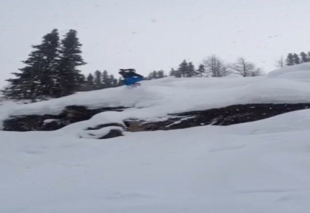 snowed all day yesterday. Pretty wet day, but the powder was worth it!