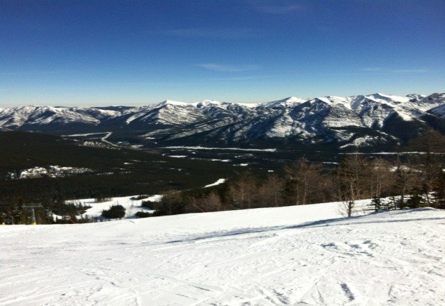 Top of Gold chair.  Beautiful day!! great contions on Saturday!!