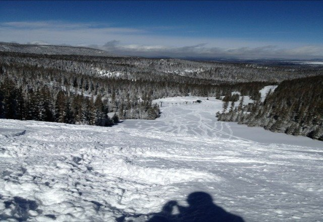 Awesome conditions Sunday.