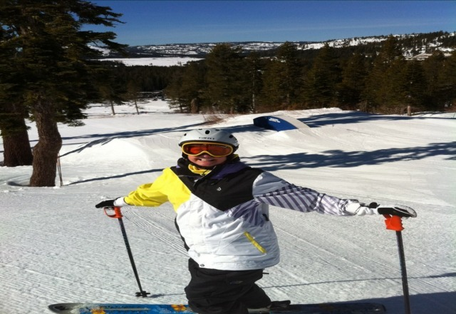 tough skiing on really hard surface conditions,need better grooming closer to opening of lifts