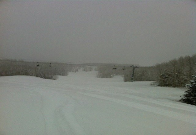 8 inches of pow!