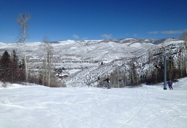 Just spent four days skiing both Beaver Creek & Vail. Conditions were outstanding! Great skiing for all levels of ability.