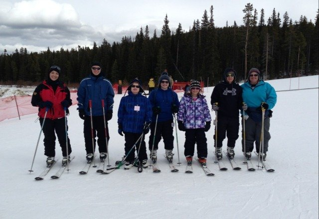 Great day of family fun. Little crusty but no lines. Perfect place to ski!! It is a secret. shhhhhh