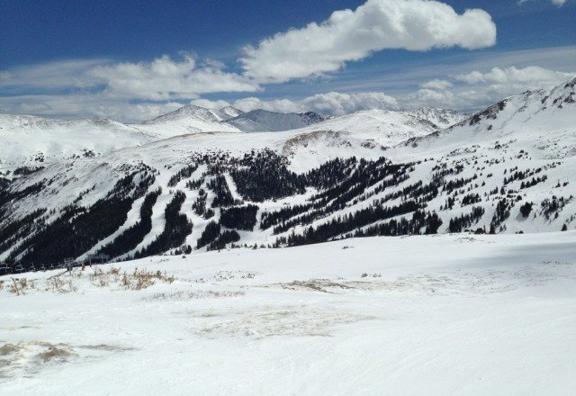 saturday at Loveland. great day, slushy in the afternoon