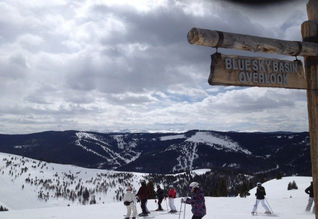 bit nippy at times, but nice day of spring skiing yesterday