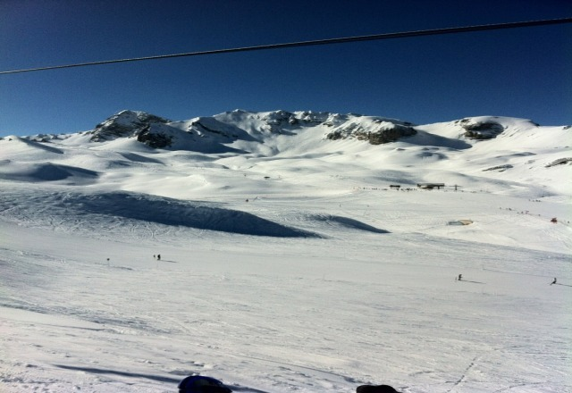 Great conditions! if you are coming out to Courchevel you will not be disappointed!