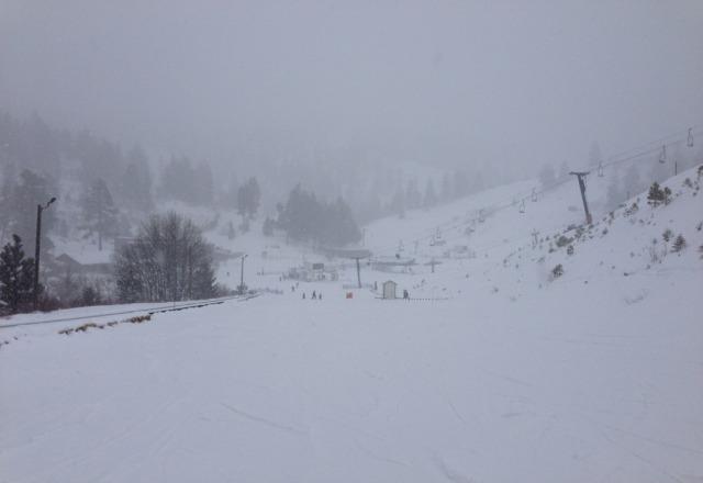 snowing hard :-)