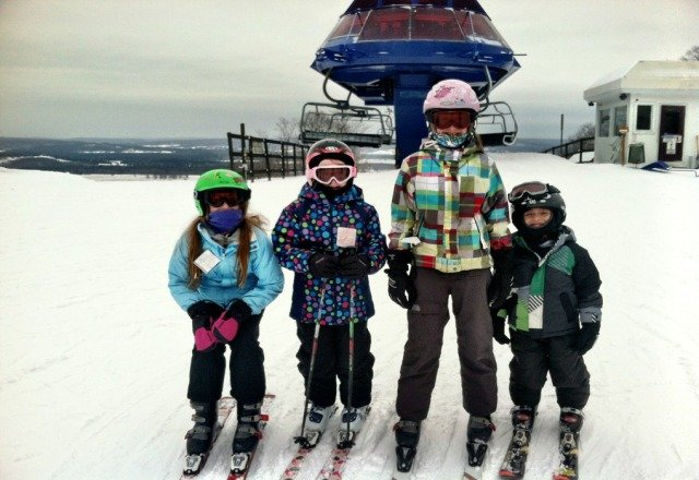 kids lovwf it!  Lines were nor crowded considering a goluday weekend.  entire moutain was open.  love D1 and D2.