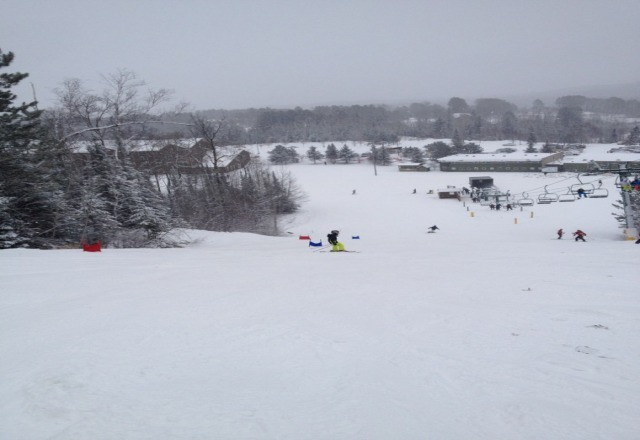 Ten + runs open as of Sunday Dec 9, 2012. probably more now with this fresh natural snowfall we just received !! Awesome